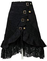 0a29aa121b2a Suchergebnis auf Amazon.de für: damen spitzenrock schwarz: Bekleidung