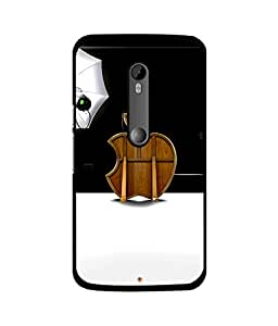 djipex DIGITAL PRINTED BACK COVER FOR MOTO XPLAY