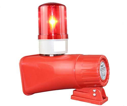 BAOSHISHAN Cuerno Siren de aire controlado por motor para lucha contra incendios de la industria, alarma de seguridad de emergencia de sonido y luz 220 V