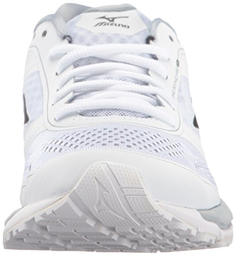 Mizuno Synchro MX Synthétique Baskets White-Black