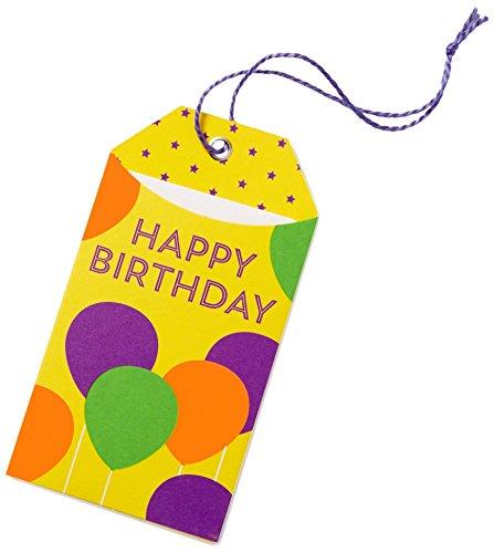 Amazon.de Geschenkkarte in Geschenkanhänger - 20 EUR (Happy Birthday) 20