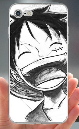 Coque iPhone 7 One Piece Luffy