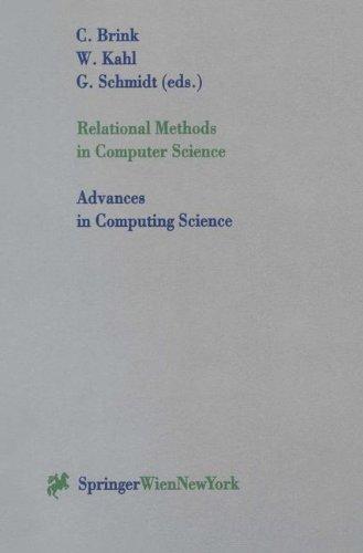 Relational Methods in Computer Science par Chris Brink