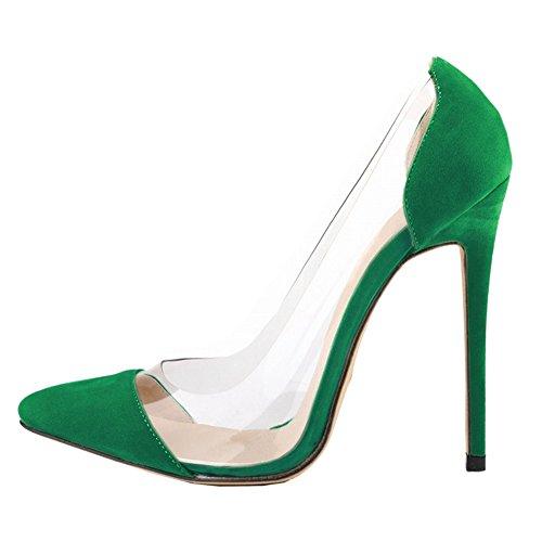 EKS, Scarpe col tacco donna Verde