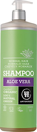 Urtekram Aloe Vera Shampoo Bio, normales Haar, 1 l (1 Liter Aloe)