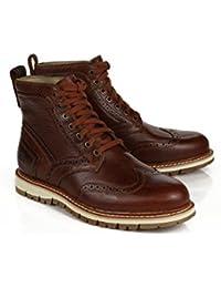 OPP - botas de caño bajo Hombre , rojo (rojo), 43 EU