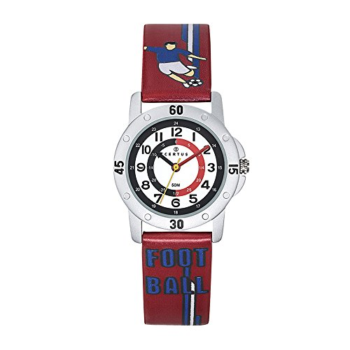 CERTUS JUNIOR Unisex Child Analogue Quartz Watch with PU Strap 647620