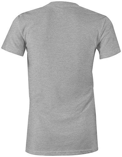 Manufactured 1985 - Rundhals-T-Shirt Frauen-Damen - hochwertig bedruckt mit lustigem Spruch - Die perfekte Geschenk-Idee (05) grau-meliert