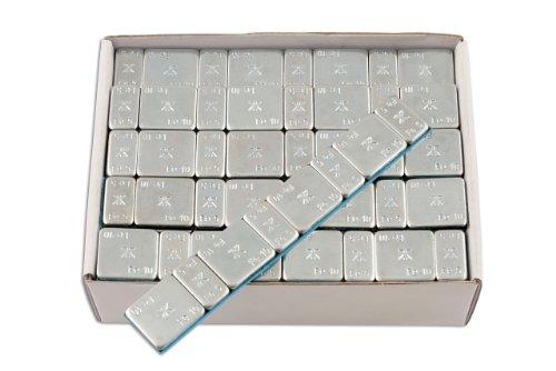 Connect 32851 610E - Striscia Adesiva di Pesi per equilibratura Pneumatici, Confezione da 50, 60 g