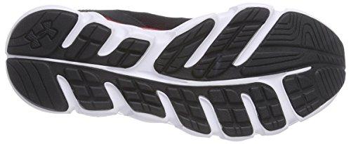 Under Armour Ua Bgs Assert V, Chaussures de course garçon Noir - Schwarz (BLK 004)