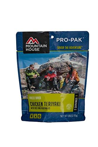 Mountain House Pro-Pak gefriergetrocknete Lebensmittel (Chicken Teriyaki w / Reis) - Für 1 Person