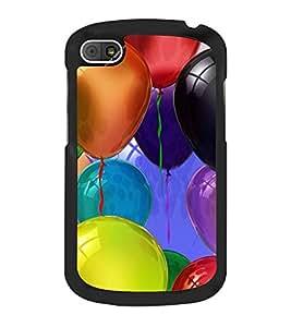 Colourful Balloons 2D Hard Polycarbonate Designer Back Case Cover for BlackBerry Q10