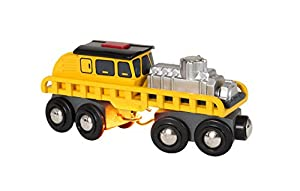 Brio 53.033.897 vehículo de Juguete - Vehículos de Juguete (Amarillo, Tren, Interior, 3 año(s), Niño/niña, Batería)