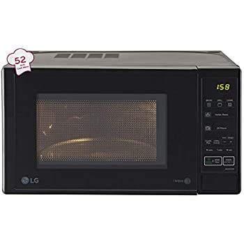 Lg 20 L Grill Microwave Oven Mh2044db Black Amazon In