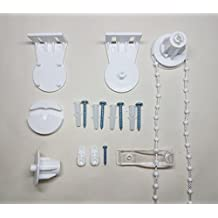 Furnished - Kit de accesorios de repuesto para estor (25 mm)