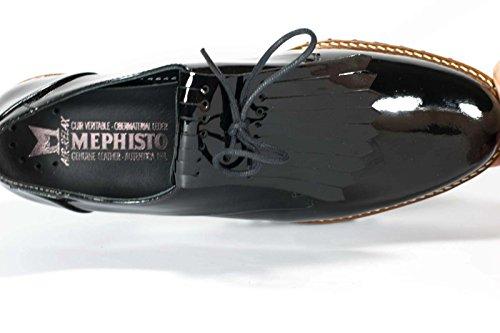 Mephisto Sabella 4200 Black, Scarpe stringate donna Nero