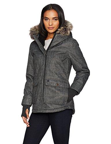 Woolrich Damen Bitter Chill Wool Loft Jacket Daunenalternative, Mantel, Oxford, Groß -