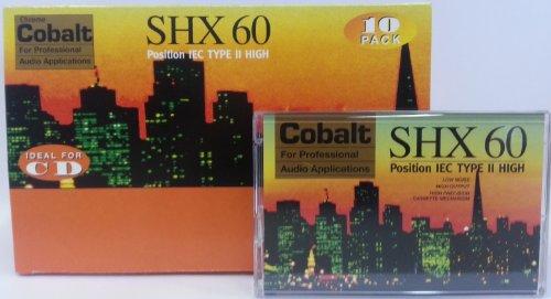audio-cassette-c-60-shx-chrom-cro2-10-er-pack-60-minuten-made-in-austria-low-noise-leercassette-audi