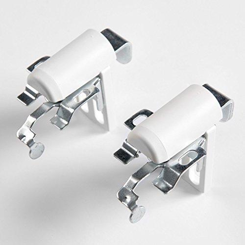 Sol Royal Universal Klemmträger für Alu-Jalousie Thermorollo - Easyfix Montage ohne Bohren mit Klemmfix-Halter
