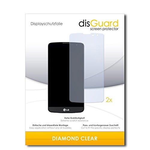 2 x disGuard® Bildschirmschutzfolie LG L Bello Dual Schutzfolie Folie