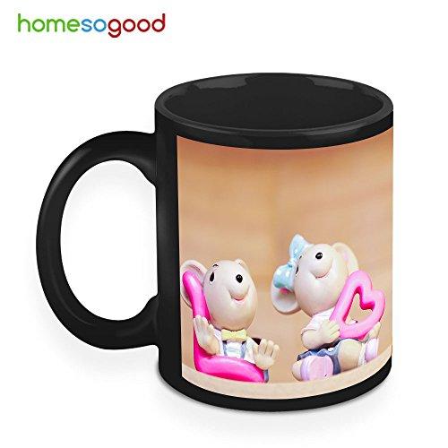 HomeSoGood Music Is Passion And Life Creamic Coffee Mug