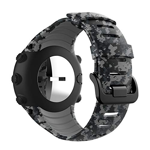 TOPsic Suunto Core Armband - Silikon Sportarmband Uhr Band Strap Erstatzband Uhrenarmband für Suunto Core Samrtwatch (Core-bands)