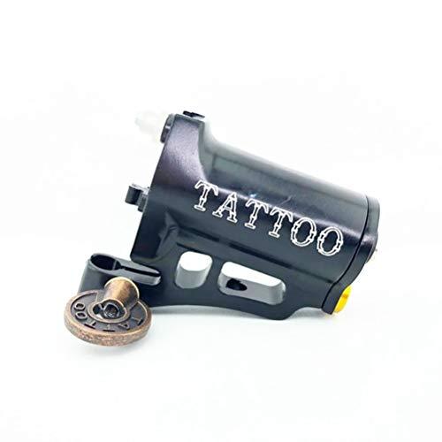 FLY CC Tattoo-Maschine, Drehbewegungstätowierung-Maschine Shader Und Liner Mit Raum-Aluminium, CNC-Schnitzen, RCA DIP, Tatoo Motor Gewehr-Versorgungsmaterial Für Künstler,Schwarz
