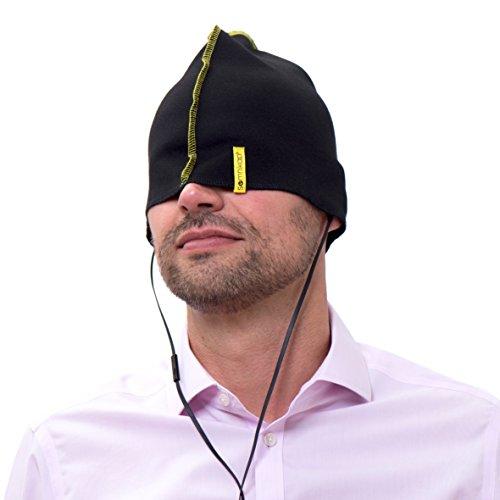 Somnikap (L) - Die Schlafmütze zum Reisen und Relaxen, moderne Nachtmütze für Männer, Frauen & Kinder, Alternative zu Schlafmaske, Augenmaske, Augenbinde & Schlaftabletten