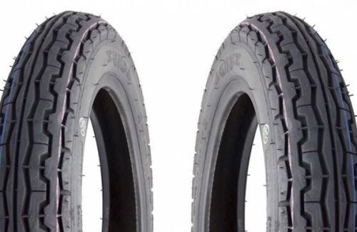 2x Reifen Set Satz Kenda K313 3.00-10 42J TT für Vespa 50 S N Sprinter Racer 90 PK 50 80 125, Simson Star 50 125 - Mbk Mustang