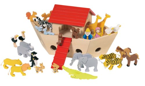 Goki 51846 toy figure kit for kids - Kids toy figure kits (3 year (s),, Wood, Animals, Closed box, 300 mm)