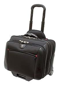 "Wenger GA-7001-02F00 COMP-U-ROLLER 16"" Laptop Briefcase , Padded laptop compartment with iPad/Tablet / eReader Pocket in Grey {10 Litres}"