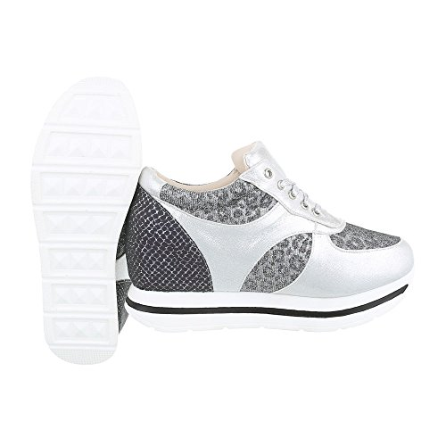 Ital-Design - Low-top Donna Argento
