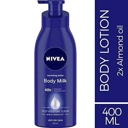 Nivea Nourishing Lotion Body Milk Richly Caring for Very Dry Skin, 400ml