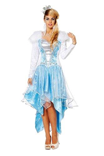 fasching kostueme damen maerchen Wilbers 4402 Eiskönigin Prinzessin Märchen Frozen Damenkostüm Karneval Fasching Kostüm Damen 40