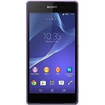 "Sony Xperia Z2 - Smartphone libre Android (pantalla 5.2"", cámara 20.7 Mp, 16 GB, Quad-Core 2.3 GHz, 3 GB RAM), violeta (importado)"