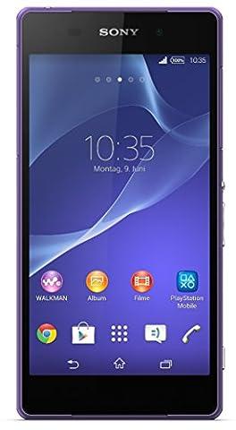 Sony Xperia Z2Smartphone (13,2cm (5,2pouces) Full HD écran triluminos, 2,3GHz Quad-Core processeur (Qualcomm), 3Go de RAM, 16Go de stockage, 20,7Mega Pixels Caméra, Android