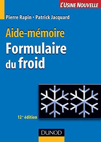 Formulaire du froid PDF Books