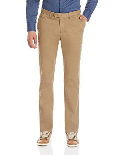 Blackberrys Men's Formal Trousers (8907196373050_BP-C5Z-KEN_30W x 36L_Curtis Brown)
