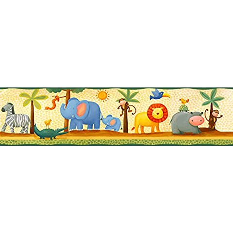 RoomMates 54299, Bordo adesivo per pareti cameretta, Multicolore (Bunt)