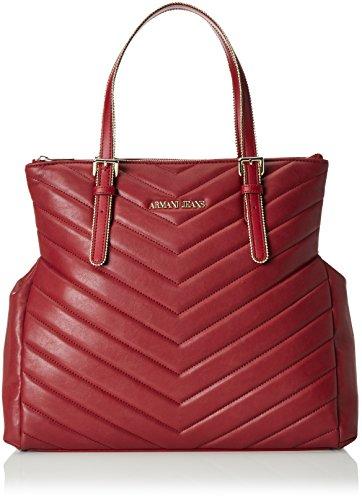 Armani Jeans 9220866a718, shoppers Rouge - Rot (BORDEAUX 00176)