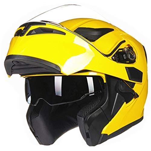 Doppio scudo casco del motociclo anti nebbia protezione UV flip up caschi moto Mountain moto motocross racing tappi di sicurezza