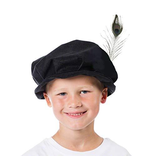 Charlie Crow Black Tudor Hat cos...