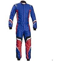 Sparco 002336AZRS54 Mono para Karting, Azul/Rojo, 54