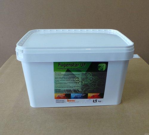 Ambratec Fugenstar UF, Sandfarben 25 Kg, Unkrautschutz, wasserdurchlässig,1-Komponenten-Pflasterfugenmörtel, Fugenausbesserung, Verdichtung