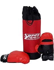 Best Sport Kinder Box-set Box-Set, schwarz/rot, M, 2307306