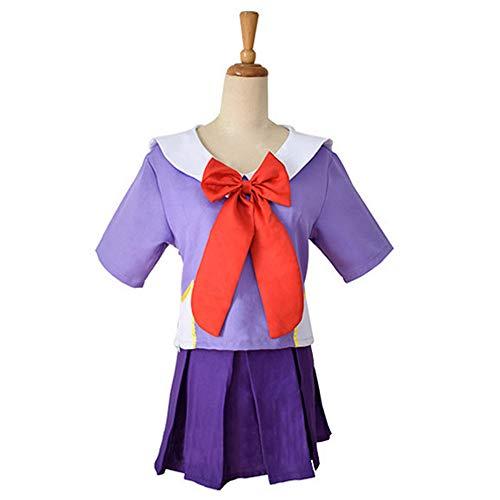 Vokaer Mirai Nikki Cosplay Costume Gasai Yuno School Uniform Suit Women Halloween Anime Future Diary 2Nd,M