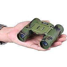 Mini Prismáticos para Niños, SUPRBIRD Prismáticos 8x21 Compactos Ligeros Ideales para Observación de Aves/ Acampada/ ópera/ Conciertos/ Deportes etc. Juguete binocular para niños y niñas