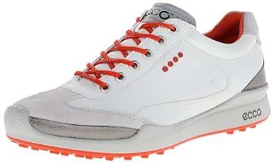 ECCO Mens Biom Golf Hybrid, White/Fire, Size 45