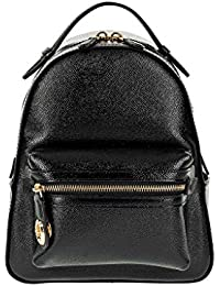 Coach Womens Leather Rucksacks, 31629_LIBLK