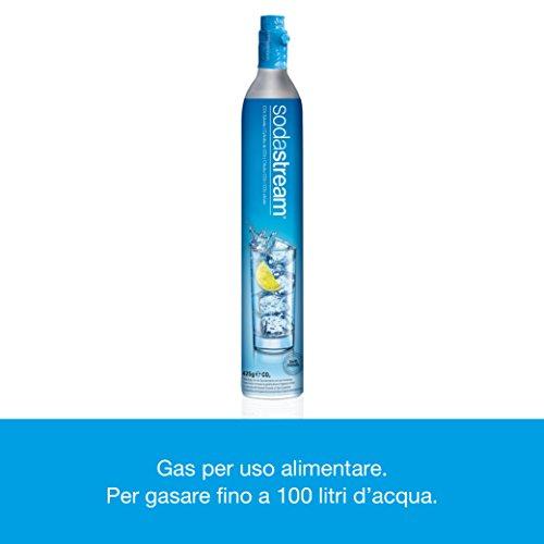 SodaStream Easy Wassersprudler zum Sprudeln von Leitungswasser, macht aus Leitungswasser Sprudelwasser – ohne schleppen. mit 1 Zylinder und 1L PET Flasche (BPA frei); Farbe: schwarz - 5